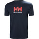 Helly Hansen Logo t-shirt Heren blauw